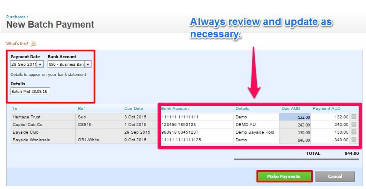 Jet Convert  Payment Advice Slip